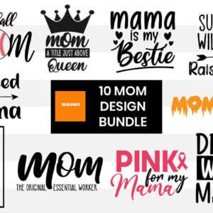 10 Mom craft bundle