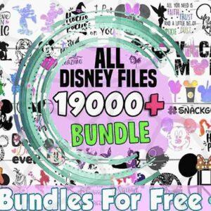 19000+ Files Bundle, Princess SVG set, Font Svg Png Dxf, Cutting files, Characters pack, Castle vector set, Cartoons svg bundle, Mouse Fairy