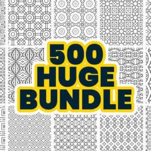 500 Geometric Pattern Bundle