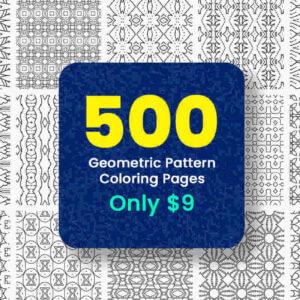500 KDP Coloring Pages Bundle