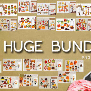 Autumn and Thanksgiving Huge Bundle