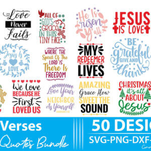 Bible Verses Quotes Bundle