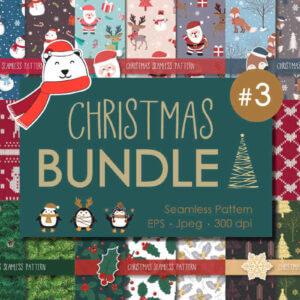 Big Christmas Seamless Bundle