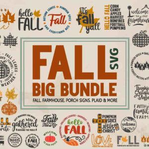 Big Fall Bundle – Thanksgiving Farmhouse