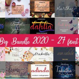 Big Fonts Bundle Vol-1
