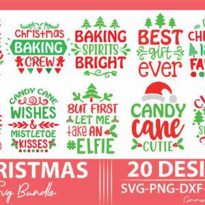 Christmas SVG Design Bundle Vol-2