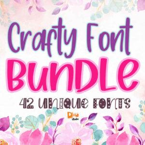 Crafty Font Bundle