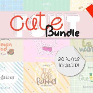 Cute Font Bundle