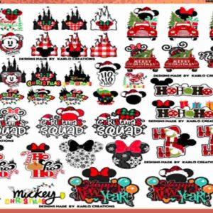 Disney svg, Disney Bundle svg, Minnie svg , Disney squad svg, Disney font svg, Disney svg files, svg files for Cricut