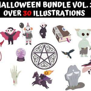 Halloween Clipart Bundle Vol.2
