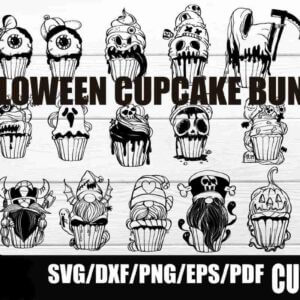 Halloween Cupcake Bundle