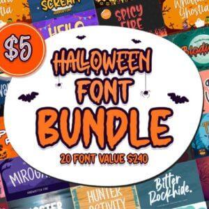 Halloween Font Bundle