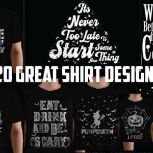 Halloween Shirt Design Bundle