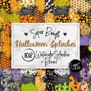 Halloween Splashes Bundle + Bonus