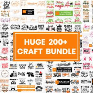 200+ Huge Craft Bundle, Mom Craft Bundle, Christmas Bundle, Cat & Dog Bundle, Valentine Craft Bundle