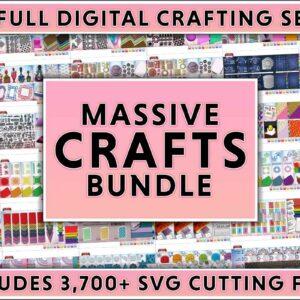 3700+ Massive Crafts Bundle