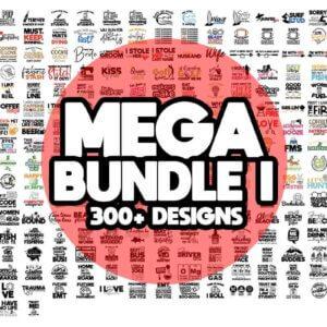 300+ Mega Craft Bundle, Sewing is My Therapy Bundle, Makers Gonna Make Bundle