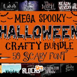 Mega Spooky Halloween Crafty Bundle