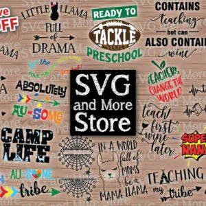 SVG & More Store Bundle