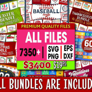 SVG Bundle in Svg formats – svg files for Silhouette Files for Cricut Cut Files